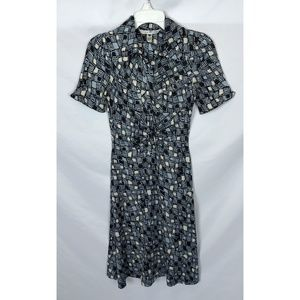 Diane Von Furstenberg Polly Dee Silk Dress Size 2